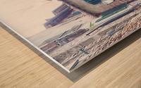 Alleyway Cetona Tuscany Wood print