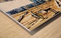 Shad Thames Street View Wood print