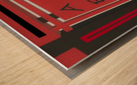 ART 4 LIFE DH MTB TEAM CREST   ECO ARTIST TOMMY BOYD 3 Wood print