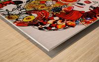 DEADBUG Geisha Wood print