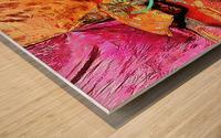 Exotic Oriental Hookah Pipe 2 Wood print