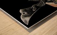 Samurai Helmet  Wood print