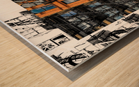 New York - SoHo  Wood print