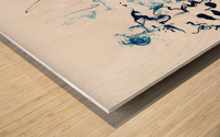 Caribou Crossing Wood print