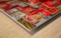 Coca Cola - Montreal Wood print