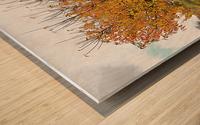 The Autumn Guardian Wood print
