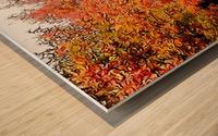 Autumn Golden Colours Umbria Wood print