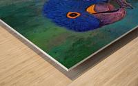 Hyacinth Macaw Wood print