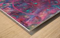 Exploding Sun1  Wood print