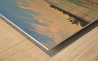 A New Beginning Wood print