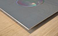bubble Wood print