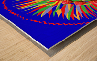 Machine Evolution Wood print