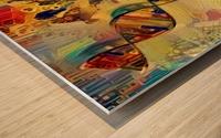 DNA Strand Wood print
