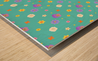 flowers, patterns, pattern, cute, nice, beautiful, bright, colorful, lovely, sexy, vibrant, summer, color, colors, hot, garden, pretty, attractive, amazing, petals, springtime, flora, n (3) Wood print