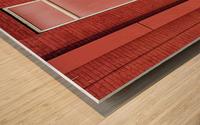 Seeing Red... Wood print
