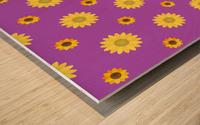 Sunflower (7) Wood print