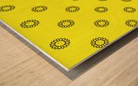 Sunflower (25) Wood print