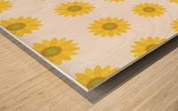 Sunflower (4) Wood print