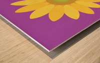 Sunflower (11)_1559876168.1472 Wood print