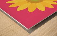 Sunflower (10)_1559876455.9347 Wood print