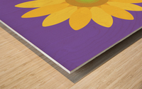 Sunflower (12)_1559876729.4481 Wood print
