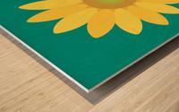 Sunflower (15)_1559876665.7687 Wood print