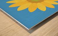 Sunflower (13)_1559876665.7609 Wood print