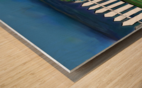Seascape  Scene Wood print