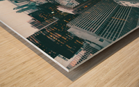 New York Architectural design Wood print