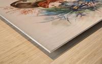 Shape of water Wood print