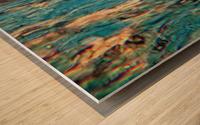 Primordial Sea Wood print