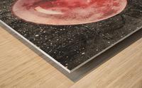 Moonalicious Wood print