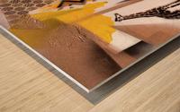 Cultural Remnant - M Wood print