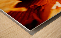 Abstract Macro Nature Photography 86 Wood print