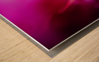 Abstract Macro Pop Colors 01 Wood print