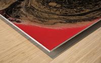 Fire Galaxy Wood print
