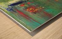 Réflexions Wood print