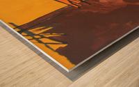 12 Wood print