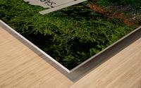 New Hampshire Farm Wood print