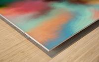 Color Burst - Breathe Wood print