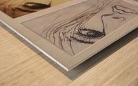 Facing the City Wood print