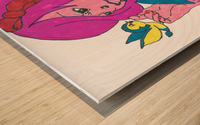 My Snow White Wood print