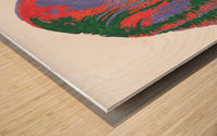 The Black Lagoon Wood print