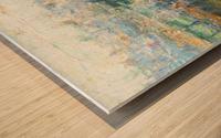 City landscape Wood print