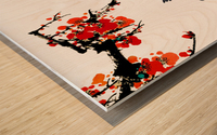 Chinese Concept 25A Wood print