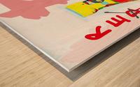 Mr. Tomato Wood print