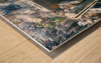 New York city Skyline View  Wood print