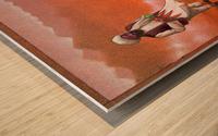 Rocket Wood print