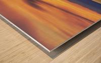 Olympic Sunset 2 Wood print