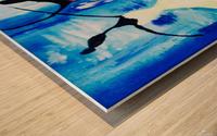 lets Dance  Wood print